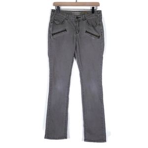 Anthropologie Pilcro Gray Skinny Jeans